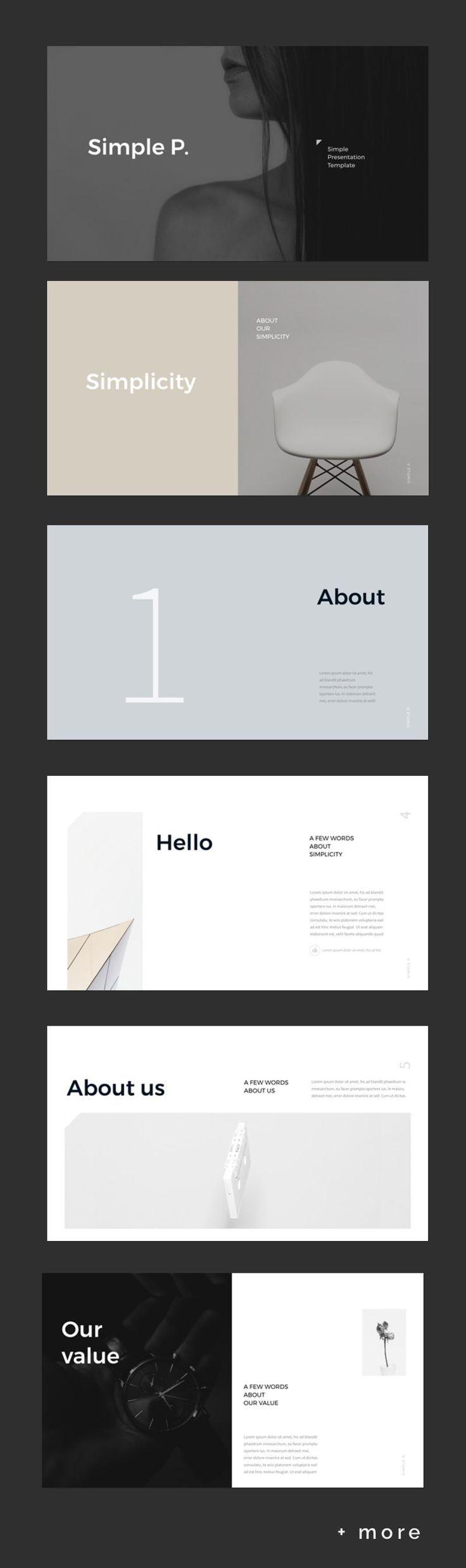 simple minimal presentation template simple presentation ppt