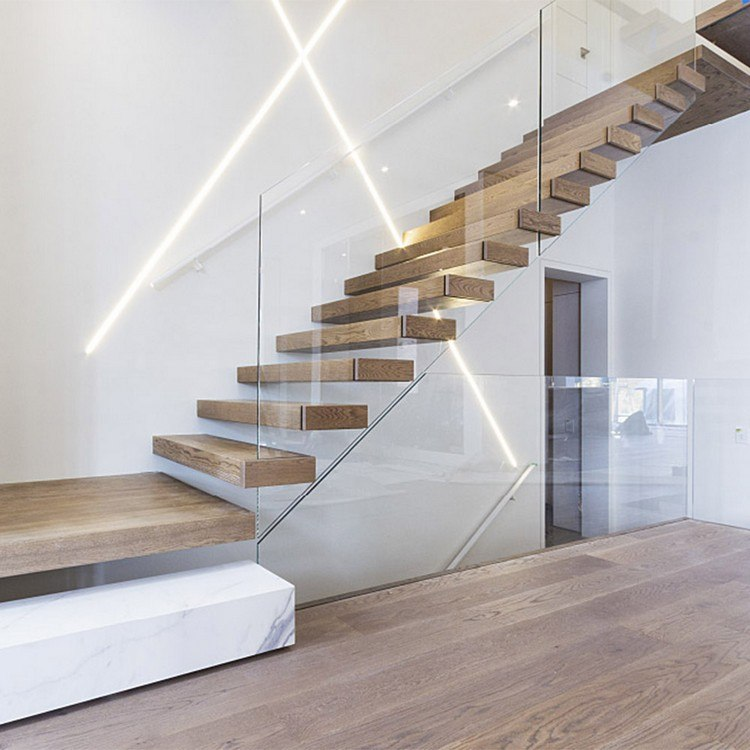 Escalier Quart Tournant En 70 Modeles Prets A Monter Maison 2018 Escalier Quart Tournant Escalier Contemporain Escalier Design