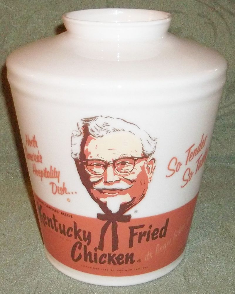 HTF Original Vintage (c)1954 Kentucky Fried Chicken KFC