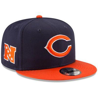 1d86231ea New Era Chicago Bears 9FIFTY Baycik Snap Snapback Hat