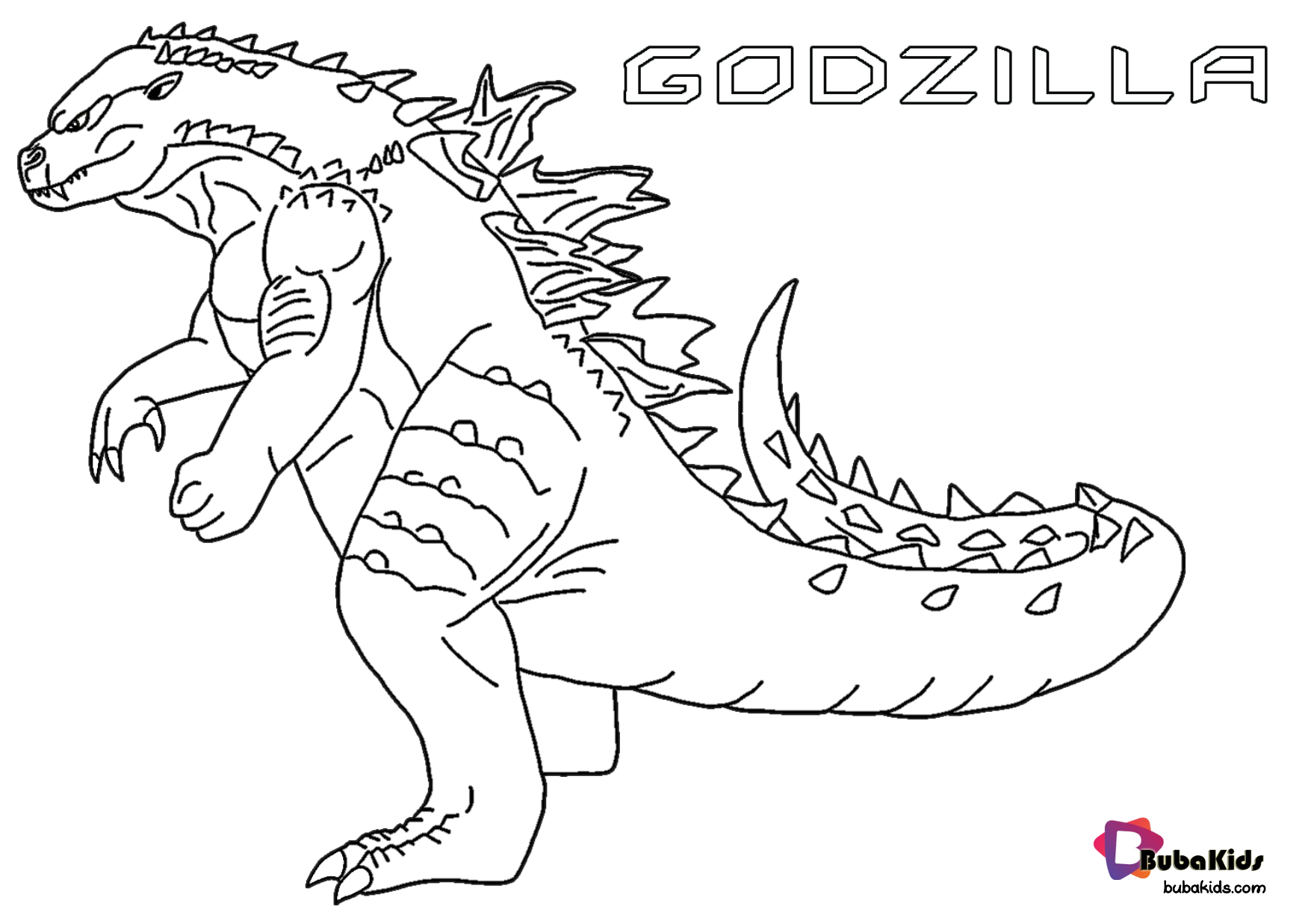 Free And Printable Godzill Or Kaiju Giant Monsters Coloring Pages Godzilla Kaiju Monsters Go In 2020 Monster Coloring Pages Coloring Pages Cartoon Coloring Pages