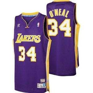 quality design 89719 d2c9d Lakers Purple Shaq | JerseyGAME | Lakers store, Shaquille O ...
