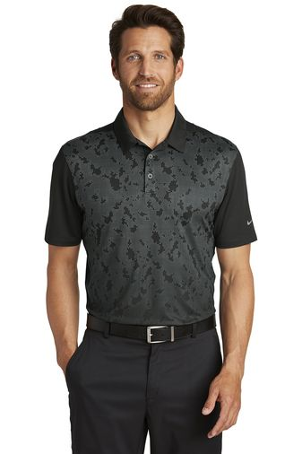 Nike Golf Dri FIT Mobility Camo Polo from NYFifth