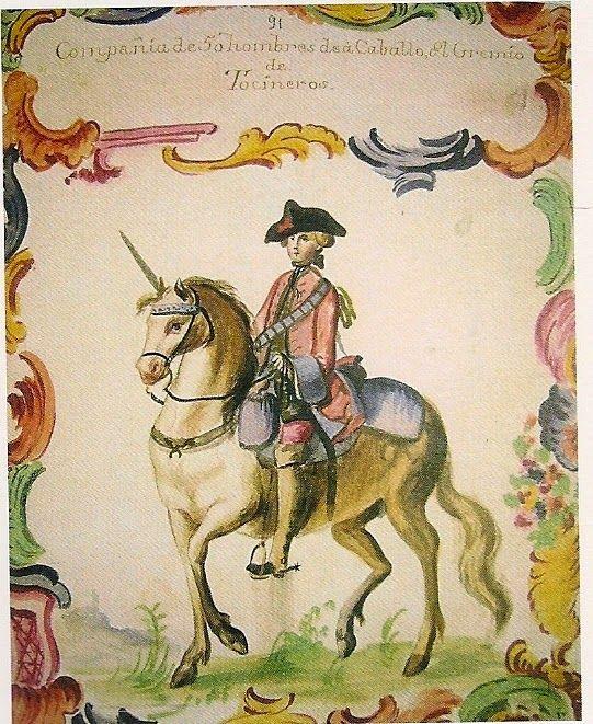 Compañía de Caballería de Tocineros de México (1740-1787)