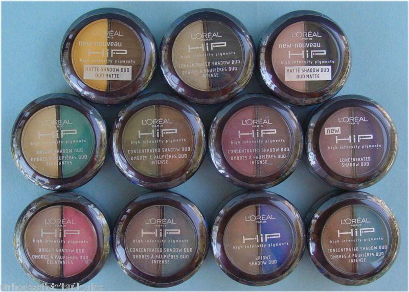 Lote de 24 Sombras Dúo Pigmentos Concentrados Loreal HIP | Kristy ...