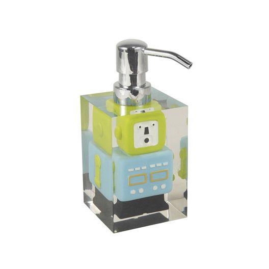Distributeur De Savon Robot Bleu Soap Soap Dispenser Soap Bottle