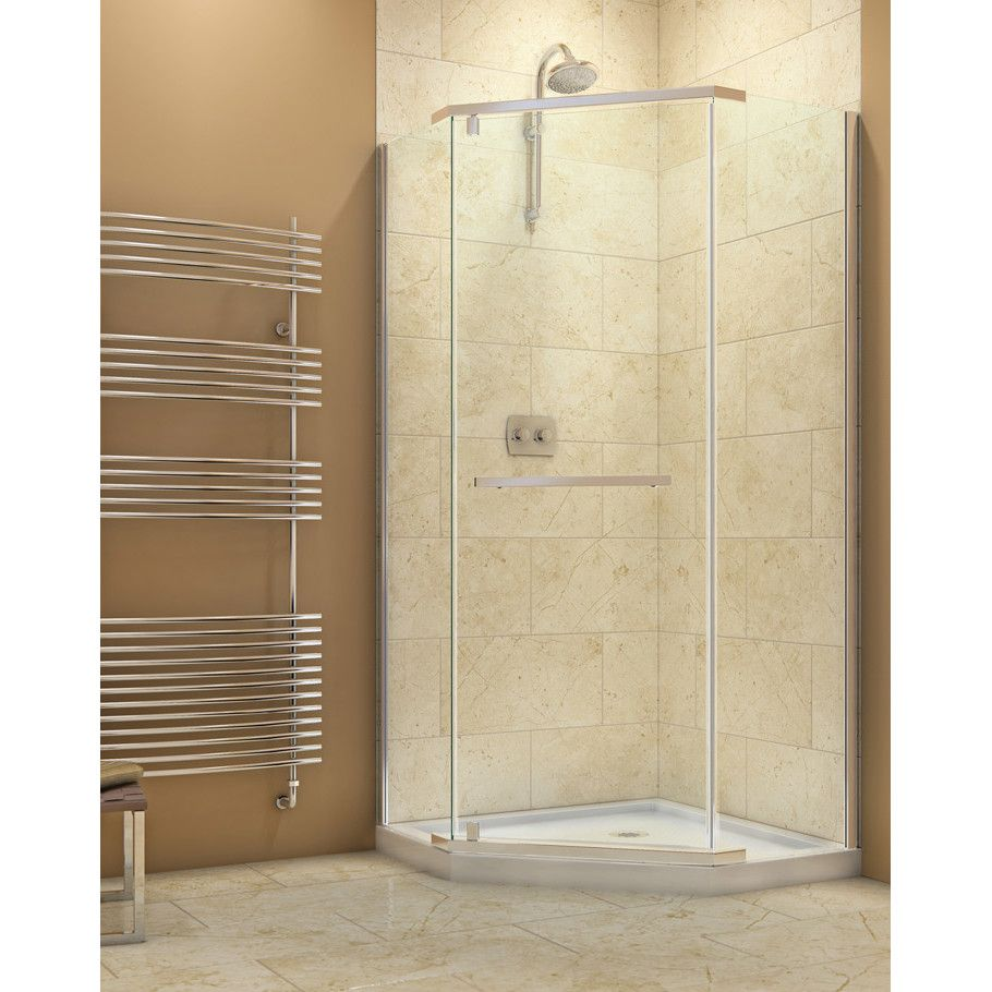 Slimline 36 X 36 Neo Angle Single Threshold Shower Base With