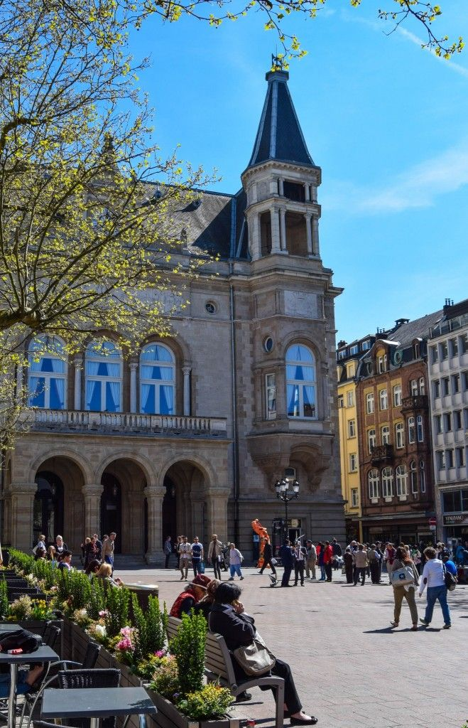 Place d'Armes Luxembourg Photo of the Day Lugares de