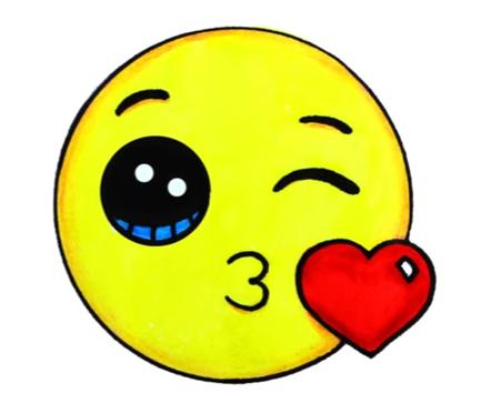 Emoji Fofo Love You Mor Dibujos Kawaii Munequitos Kawaii Dibujos Kawaii Faciles