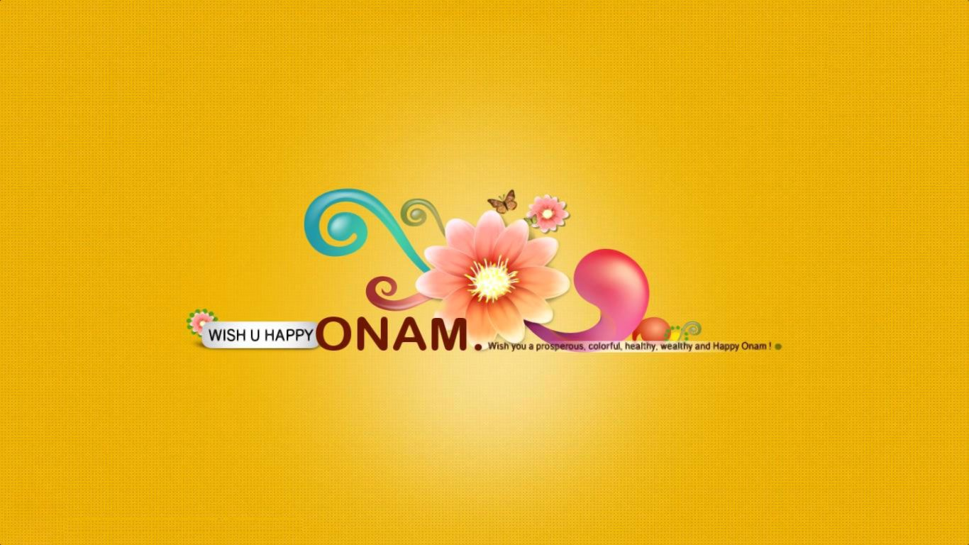 Onam Is Harvest Festival Of Kerala Happy Onam Wishes Wallpapers