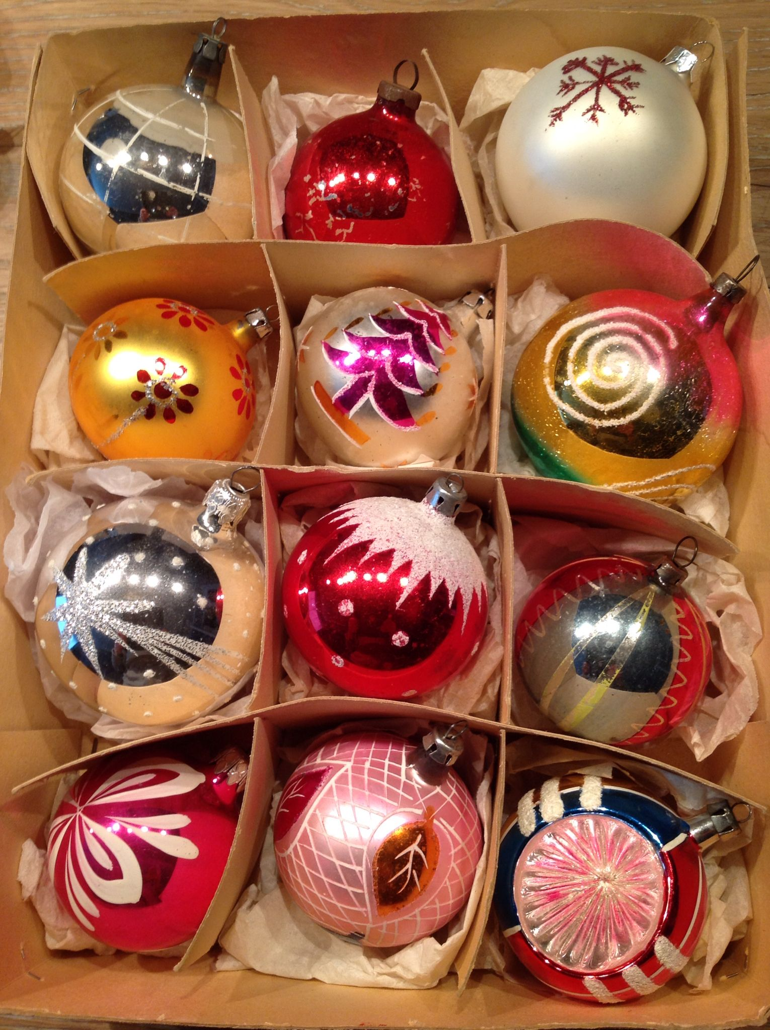 Vintage Beautiful Ornaments Christmas Ornaments Christmas