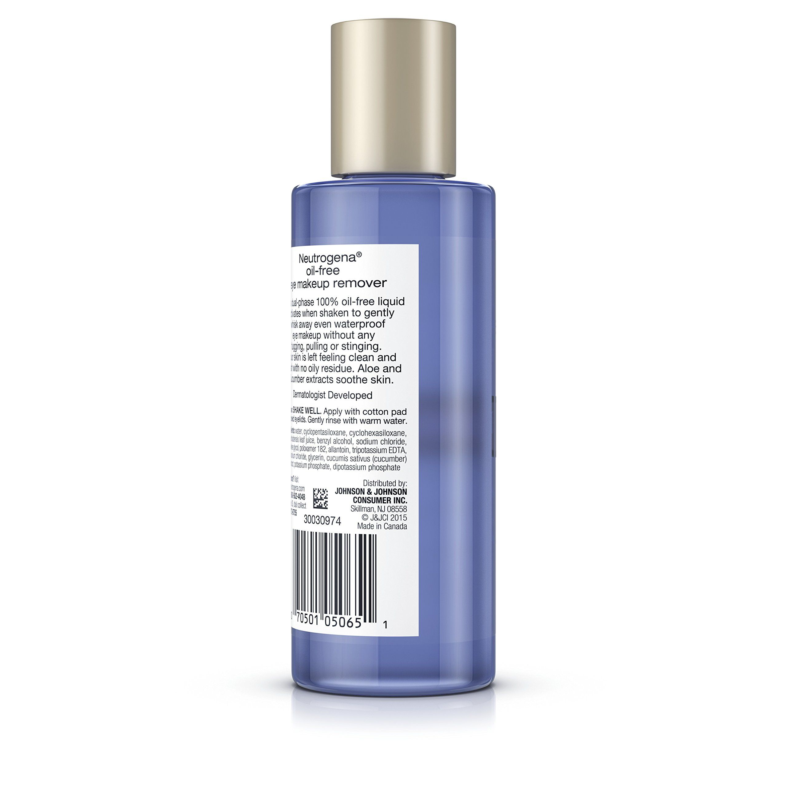 Neutrogena OilFree Gentle Eye Makeup Remover 5.5 Fl. Oz