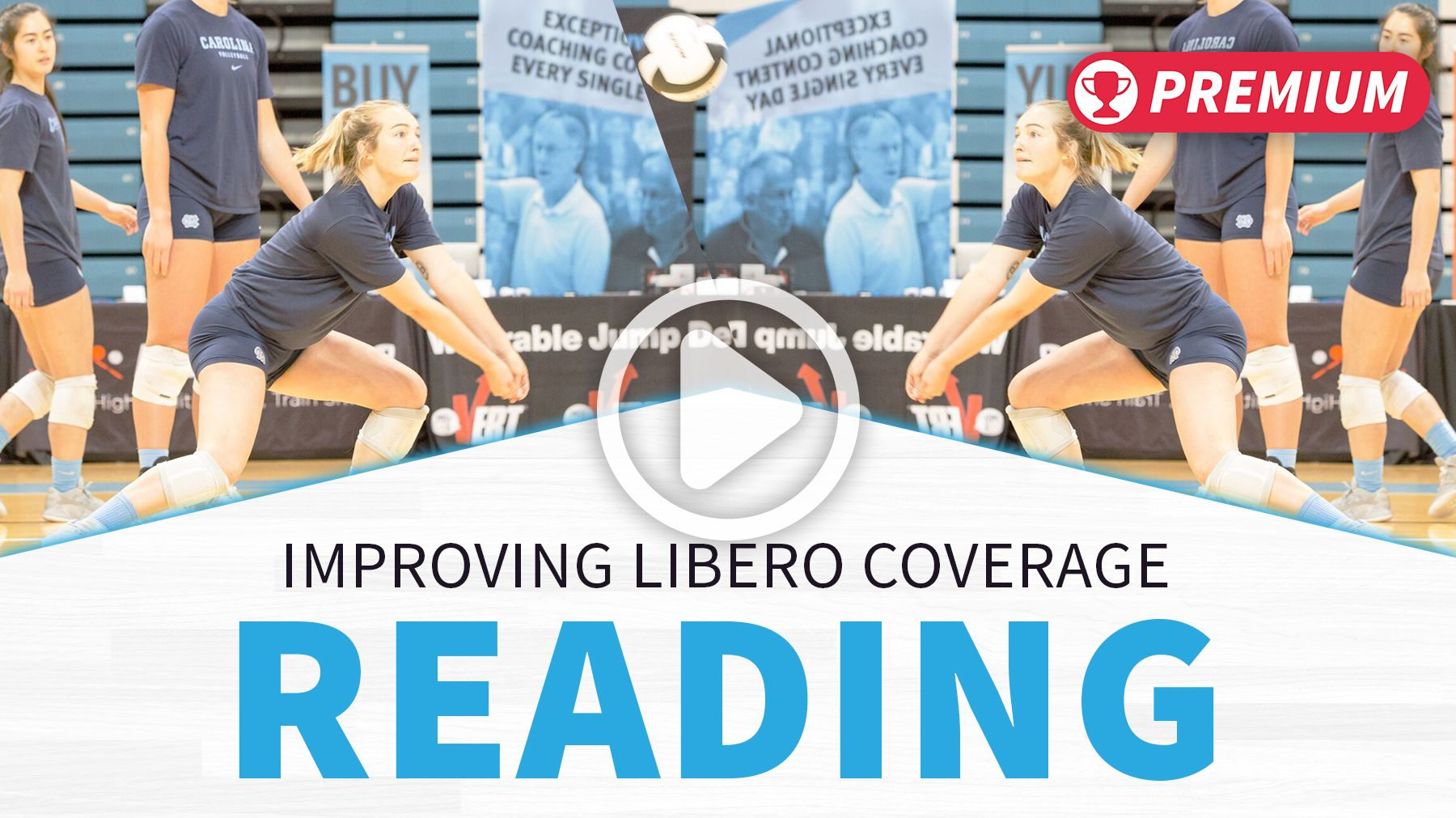 Improving Libero Coverage Reading The Art Of Coaching Volleyball Coaching Volleyball Volleyball Tips Coaching