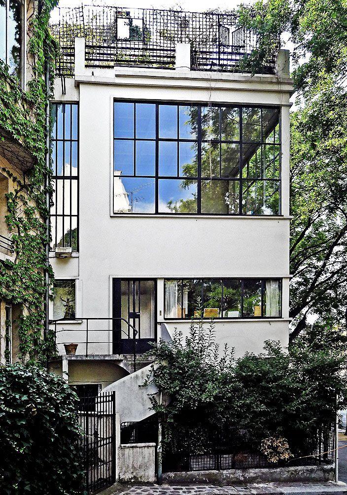 Villa Ozenfant by Le Corbusier, 1922 MODERN ARCHITECTURE - bauhaus spüle küche