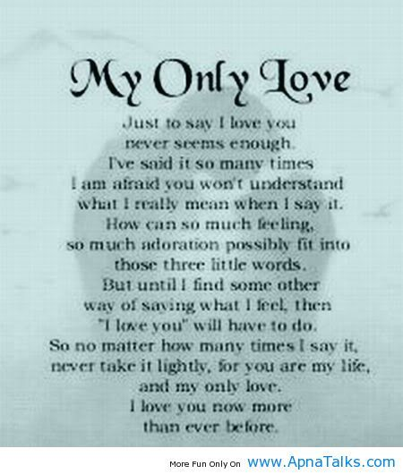 I love you so much quotes for her