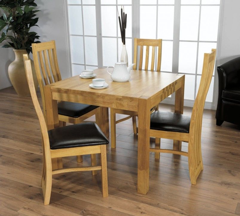 kitchen table and chairs with wheels. Furniture, Light Wood Dining Set Small Square Table Upholstered Chairs ~ Compact Kitchen And With Wheels