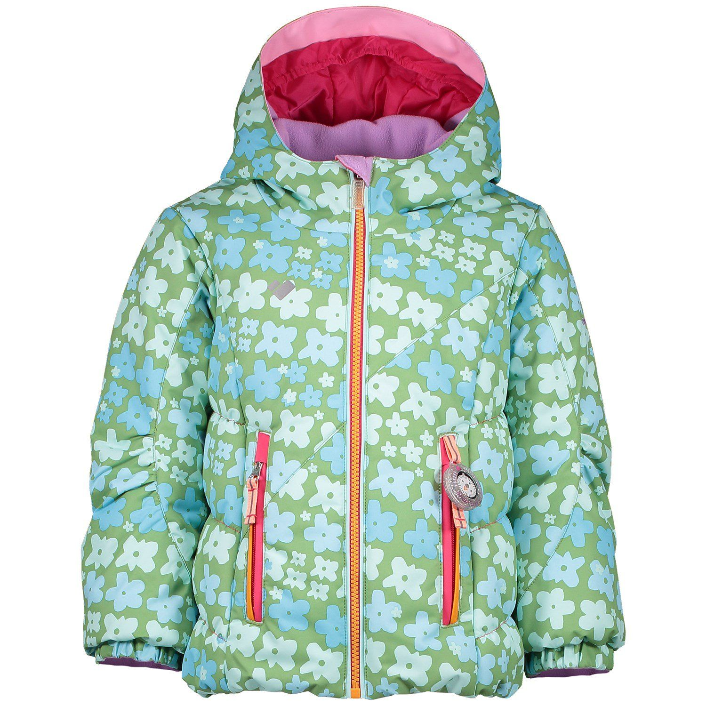 Obermeyer Kids Girls Cakewalk Jacket Honeysuckle Blue 7 Little Kids Toddler//Little Kids//Big Kids
