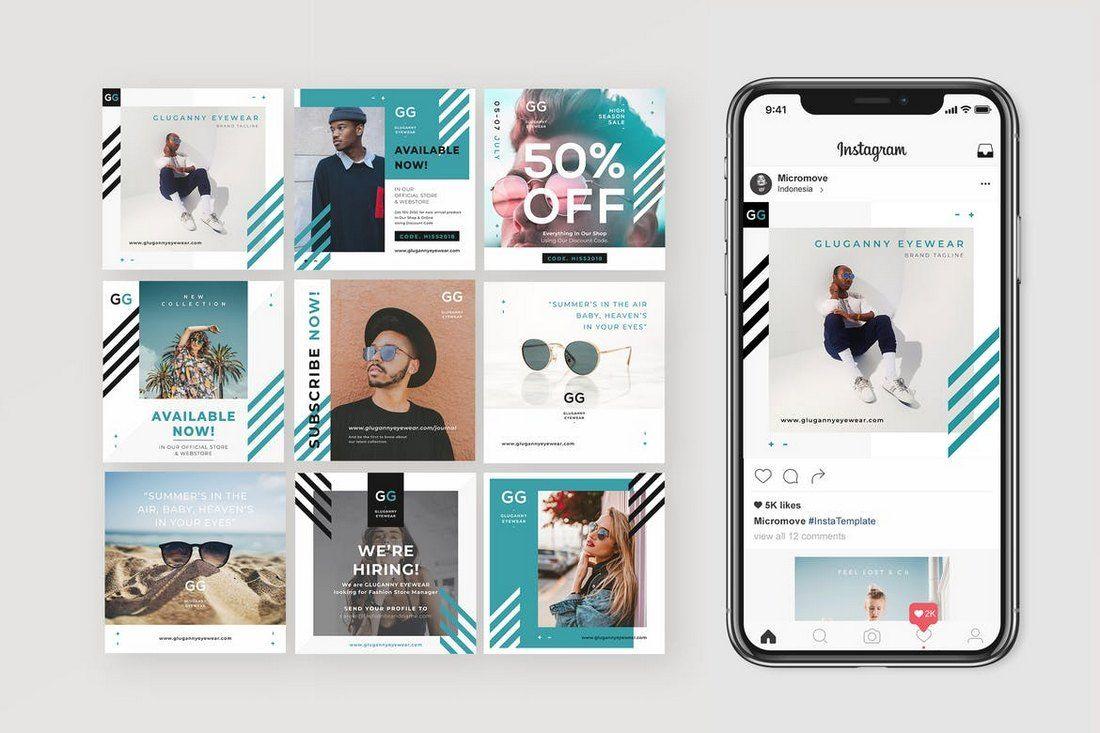 50 Best Instagram Templates Banners Instagram Template Design Instagram Template Instagram Banner