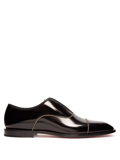 44c107cc3b08 CHRISTIAN LOUBOUTIN Alpha Male Leather Loafers.  christianlouboutin  shoes   flats