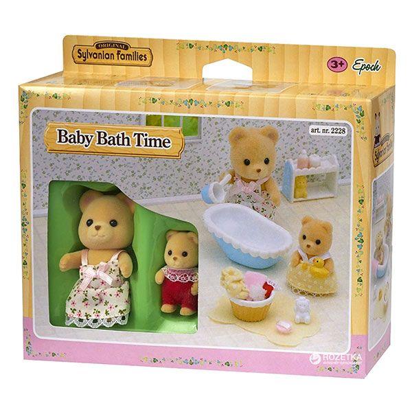 Sylvanian Families la hora del baño para el bebé in 2020 ...