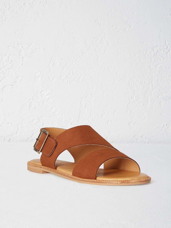 78e13e7e781f9f Alaska Leather Sandal BLACK