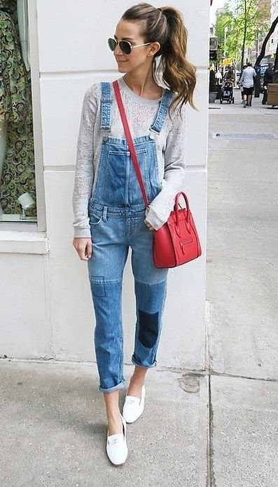 9526fc8b161c A flattering pair of overalls go a long way. Rock them with bold  accessories to really make your look POP.