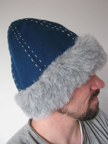 d187a58ebfb For Sale! Wool hat with faux fur trim