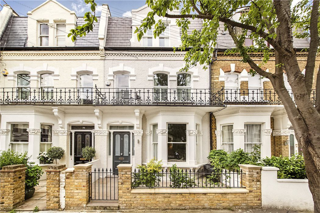 For Sale Is This Newly Refurbished Five Bedroom House In Parsons Green