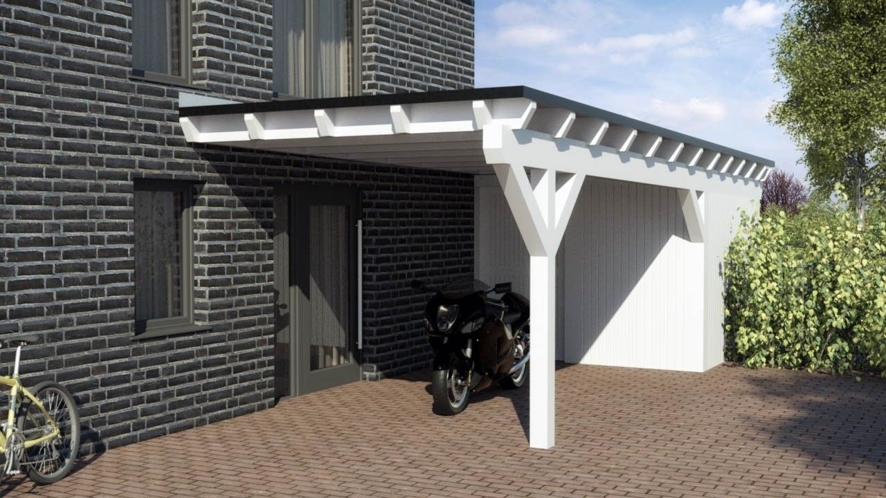 flachdach carport nach ma wir produzieren alle carports. Black Bedroom Furniture Sets. Home Design Ideas