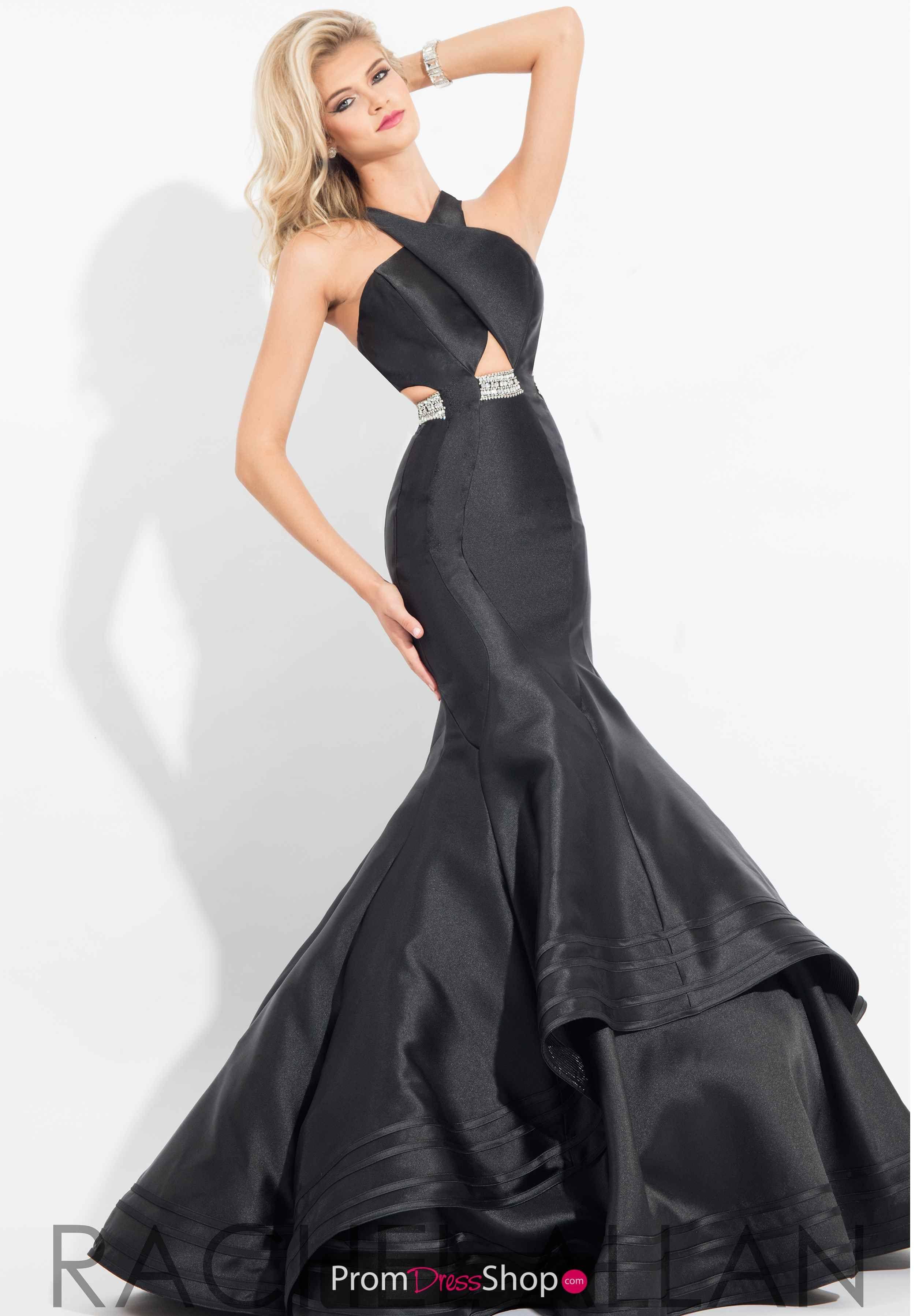 Rachel allan long red high neckline dress gowns pinterest