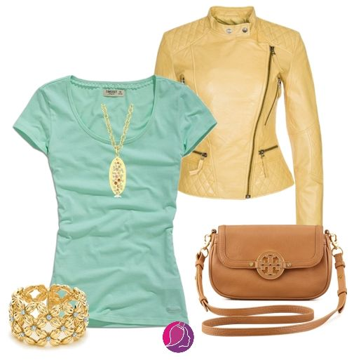 Outfit for toned spring