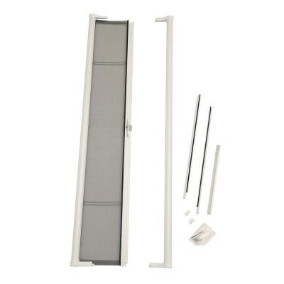 brisa white retractable screen door
