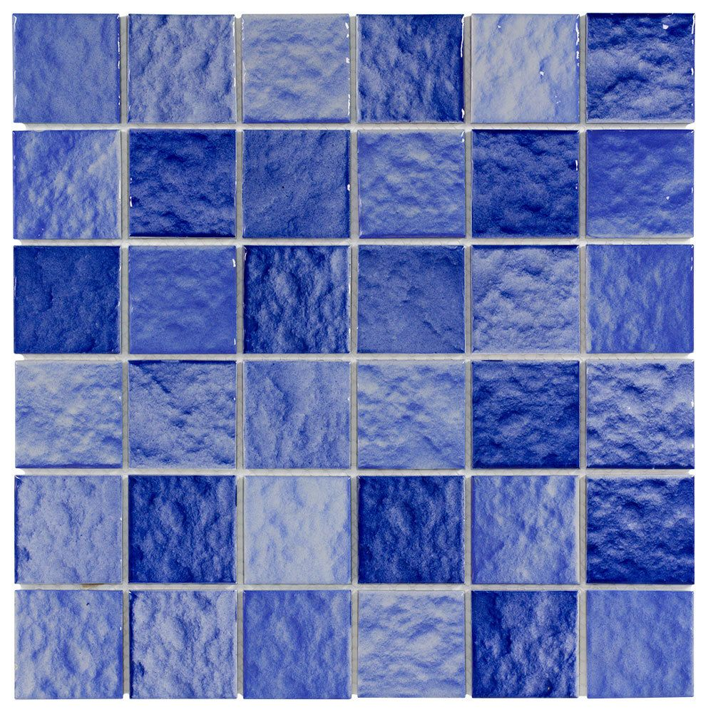 Pool Mosaic Tile Blue Wave 12x12 Mineral Tiles Ceramic Mosaic Tile Mosaic Tiles Iridescent Glass Tiles