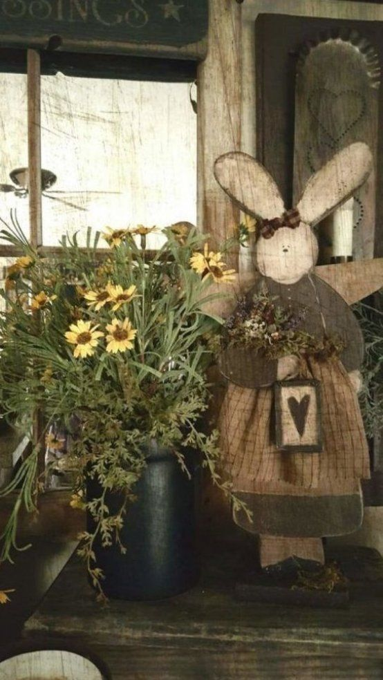 60 Outdoor Easter Decorations ideas which are colorful and egg-stra special - Hike n Dip