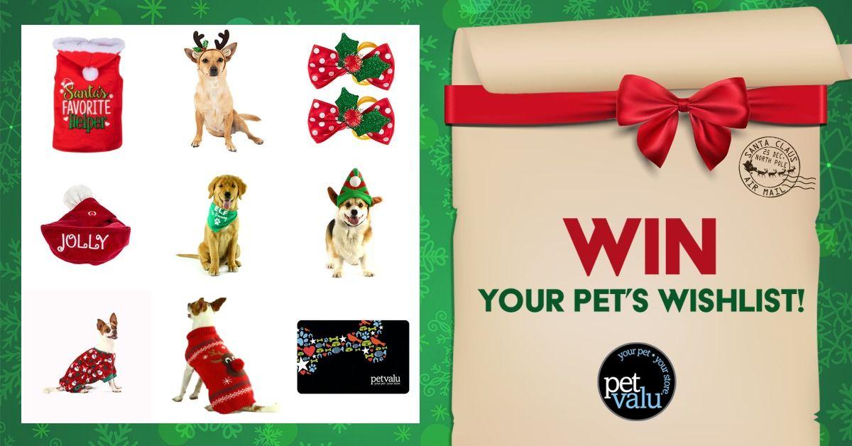 Dear Santa I Just Created My Pet S Wishlist From Pet Valu You