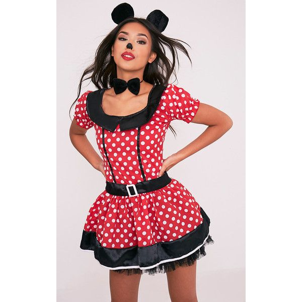 Mouse Red Polka Dot Fancy Dress Costume ($19) ❤ liked on Polyvore ...