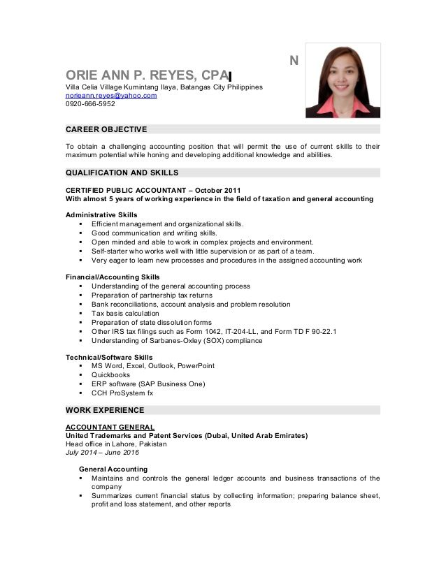 Sle Resume Accounting Graduates Philippines Resume News To Go 2