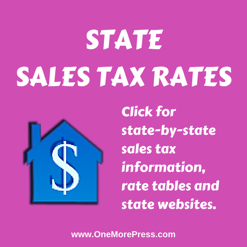 State Sales Tax Rates Click For State By State Sales Tax