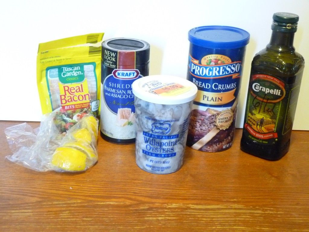 Baked oyster ingredients Food, Sweet t, Oysters