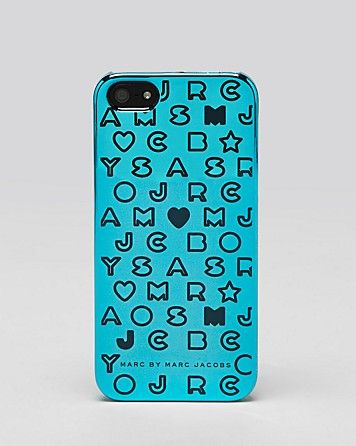 MARC BY MARC JACOBS iPhone 5 Case - Metallic Stardust   Bloomingdale's $38.00