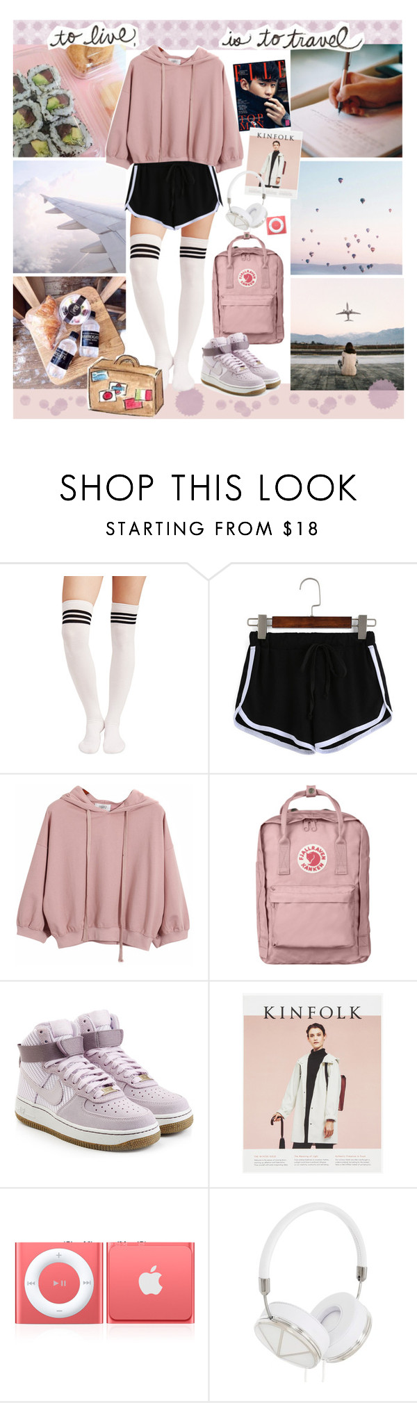 """Hands up if you feelin' the vibe now // chloe's summer challenge"" by little-miss-rhapsody ❤ liked on Polyvore featuring Chicnova Fashion, Fjällräven, NIKE, Frends, epifashionset2016 and stylingmysummer"