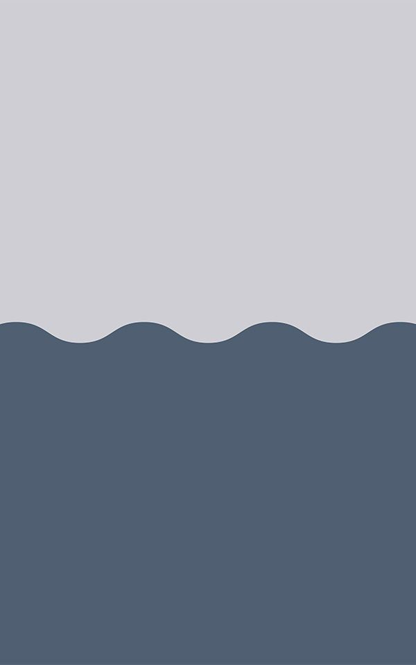 Navy Blue Two-Tone Wave Effect Geometric Wallpaper Mural