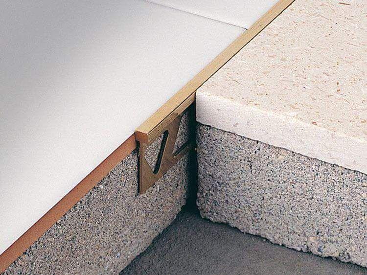 Floor Transitions Brass Concrete Flooring Home Flooring