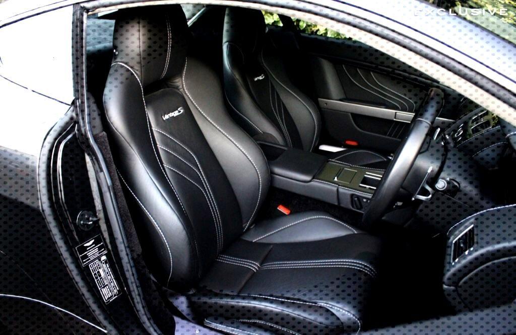 Aston Martin Vantage S Leather Interior
