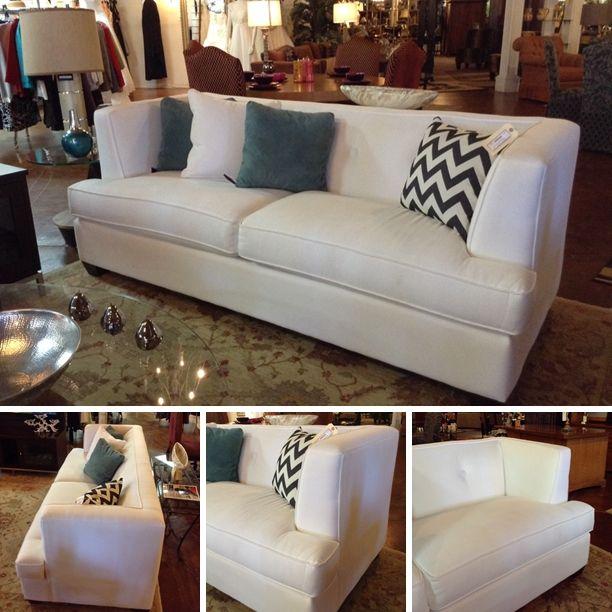 White Fabric Sofa Furniture, Bassett Furniture San Antonio