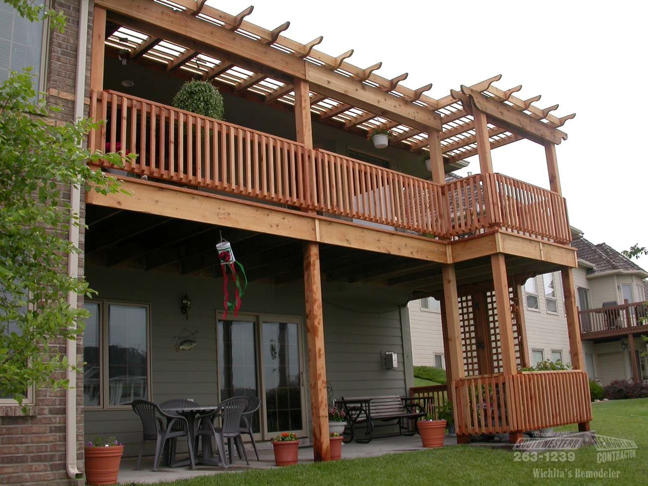 Second story deck ideas google search backyard patio for How to build a 2nd story floor