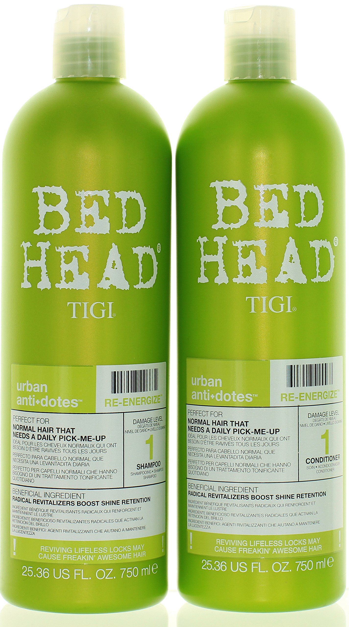 Tigi Bed Head Reenergize Shampoo And Conditioner Duo 25 36 Oz Continue To The Product At The Image Link Note It S An Shampoo Tigi Shampoo And Conditioner
