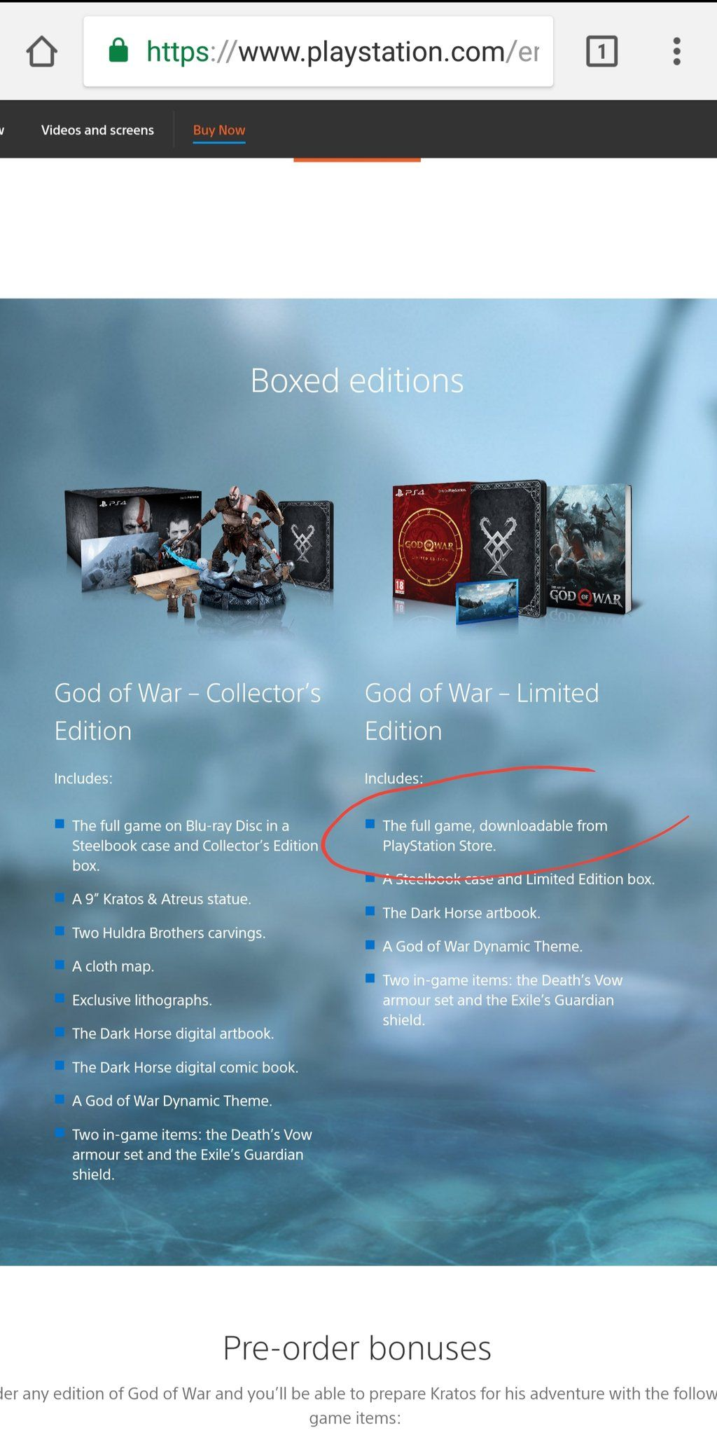 god of war limited edition steelbook