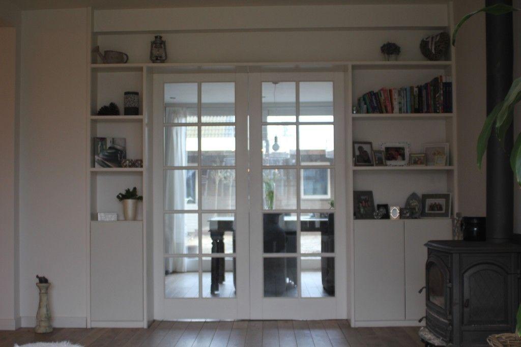 boekenkast - boekenkast   Pinterest - Inbouwkasten en Schuifdeuren