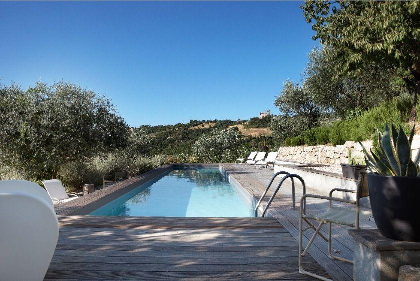 swimming pool in Umbria